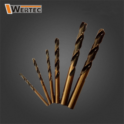Wiertło do metalu 2,5 HSS GOLD WERTEC