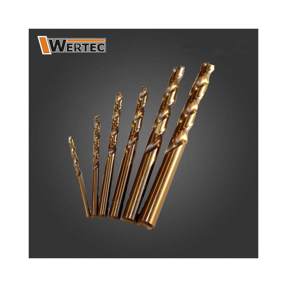Wiertło kobaltowe 2,0 HSS Co5% WERTEC