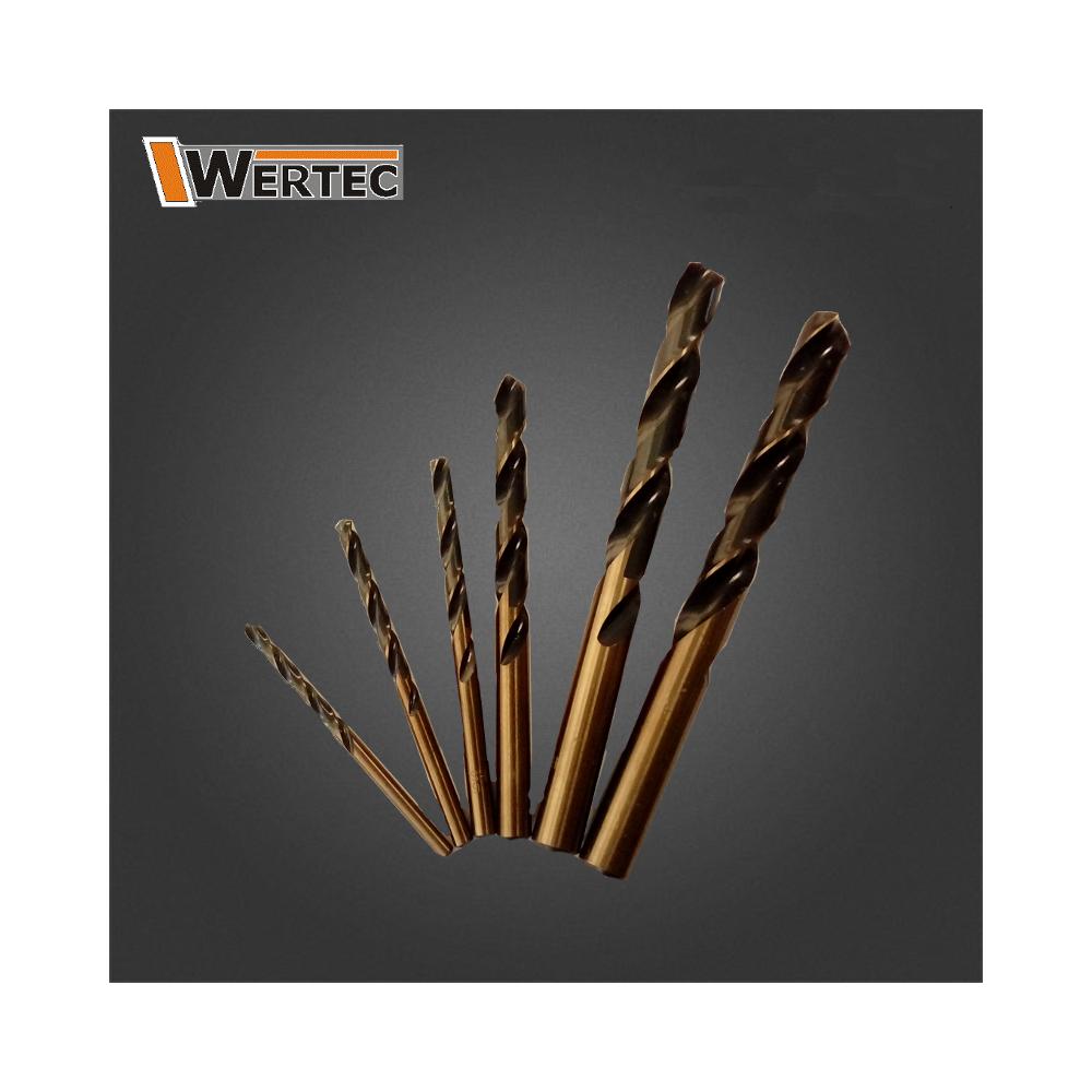 Wiertło do metalu 7,0 HSS GOLD WERTEC