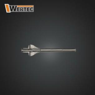 Dłuto Skrzydełkowe SDS-max 60x18x280mm WERTEC