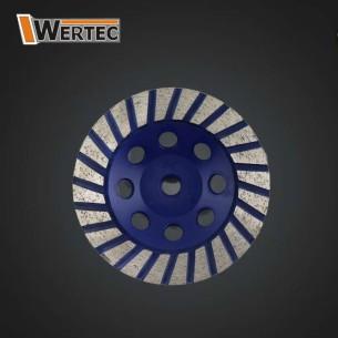 Tarcza diamentowa TURBO 125x22,23mm WERTEC