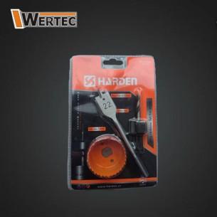 Otwornica do drewna 3 elementy (25mm) HARDEN