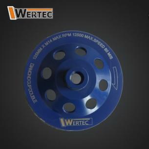 Tarcza Diamentowa do szlif.125xM14 DOUBLE WERTEC