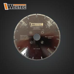 Tarcza diamentowa do szkła 150x22,23mm GALWADO
