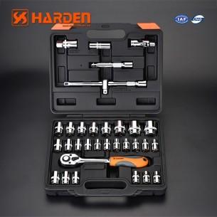 Zestaw kluczy nasadowych w walizce 32 el. 1/2 grzechotka