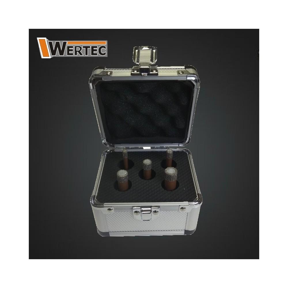Zestaw koronek diamentowych 6,8,10,12,14mm