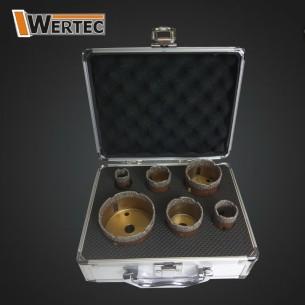 Zestaw koronek diamentowych 20,28,35,45,50,68mm
