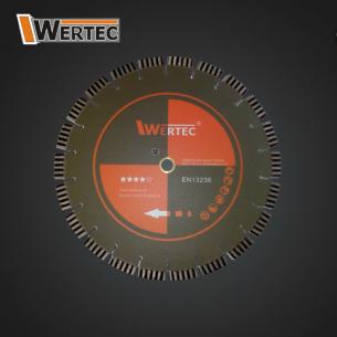 Tarcza diamentowa 300x25,40x15mm WERTEC