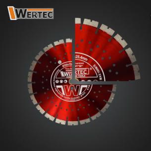 Tarcza diamentowa GREEN 350x25,40x15mm WERTEC