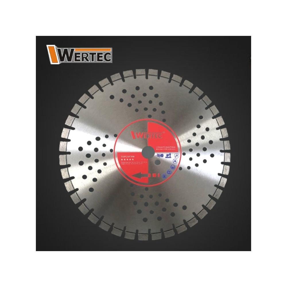 Tarcza Diamentowa do betonu TOPCUT 350x25,4x12mm