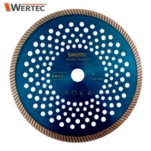 Tarcza Diamentowa GRANIT 230x10x22,23 WERTEC