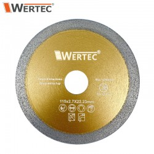 Tarcza do usuwania fugi 115x2,7x22,23mm WERTEC