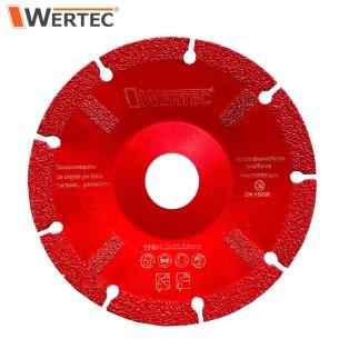 Tarcza do cięcia po łuku 115x1,2x22,23mm WERTEC