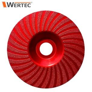 Tarcza do szlifowania 125x22,23mm GR80 WERTEC