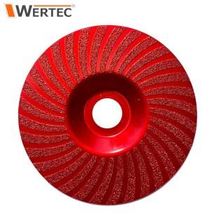 Tarcza do szlifowania 125x22,23mm GR50 WERTEC