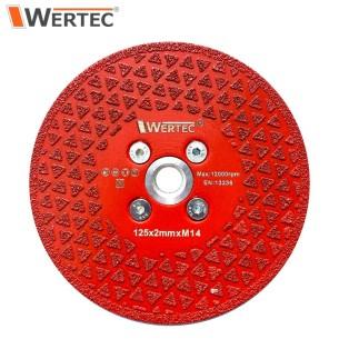 Tarcza do cięcia i szlifowania 125x2xM14 WERTEC