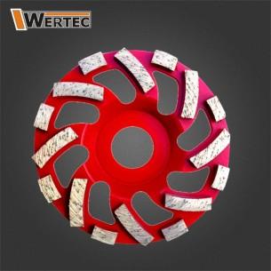 Tarcza diamentowa GCN125x22,23mm WERTEC