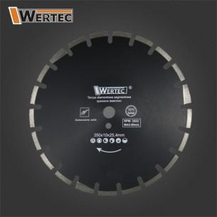 Tarcza diamentowa ASFALT350 WERTEC