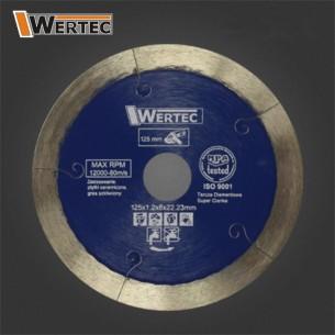 Tarcza diamentowa JSLOT125 WERTEC