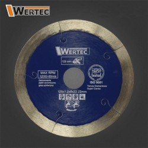 Tarcza diamentowa super cienka 125 mm WERTEC