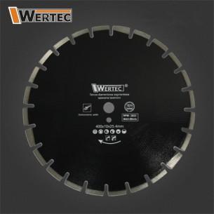 Tarcza diamentowa ASFALT400 WERTEC